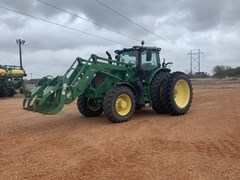 Tractor - Row Crop For Sale 2017 John Deere 6175R , 175 HP