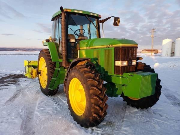 1992 John Deere 7800 Tractor For Sale