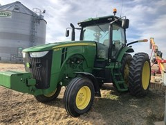 Tractor - Row Crop For Sale 2012 John Deere 8235R , 235 HP