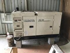 Generator For Sale 2005 Kubota SQ-26-USA-SW