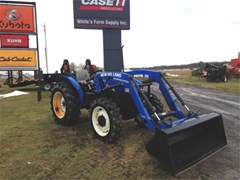 Tractor For Sale 2013 New Holland Workmaster 55 , 55 HP