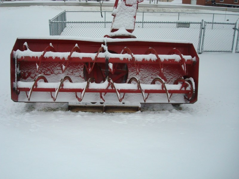 B & H 9/1000 Snow Blower For Sale