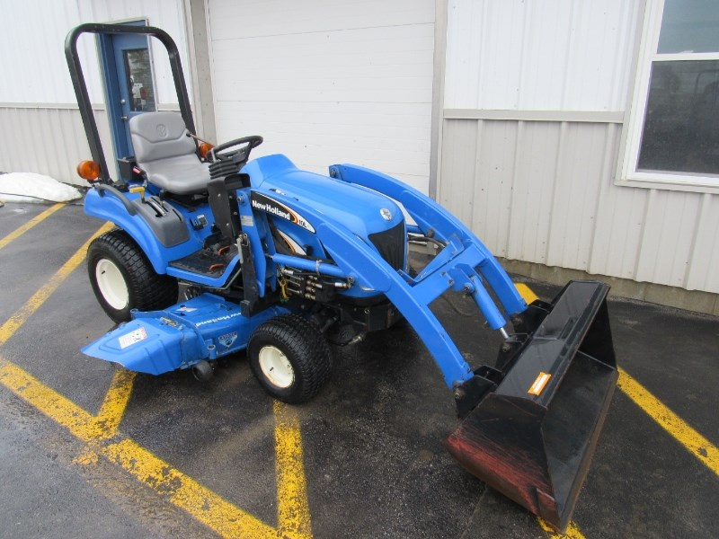 2004 New Holland TZ24DA Tractor For Sale