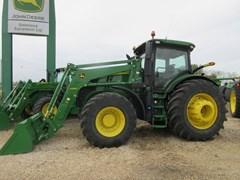 Tractor - Row Crop For Sale 2019 John Deere 7230R , 230 HP