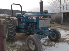 Tractor For Sale 1990 Ford 7710 , 98 HP