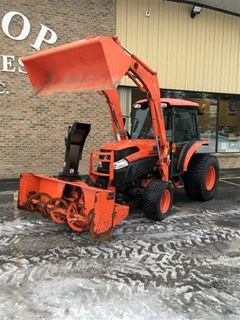 Tractor For Sale 2012 Kubota L5740HSTC , 57 HP