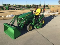 Tractor - Compact Utility For Sale 2016 John Deere 1025R