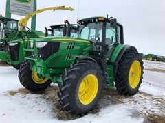 Tractor - Row Crop For Sale 2019 John Deere 6155M , 155 HP
