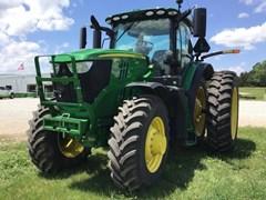 Tractor - Row Crop For Sale 2017 John Deere 6195R