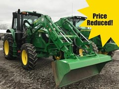 Tractor - Utility For Sale 2016 John Deere 6110M
