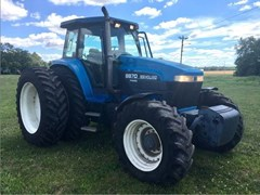 Tractor For Sale 1998 New Holland 8870 , 210 HP