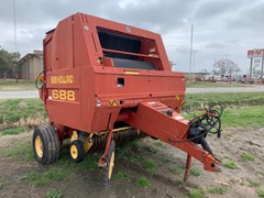 Baler-Round For Sale 2002 New Holland 688