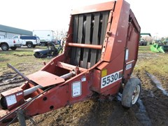Baler-Round For Sale 1985 Hesston 5530