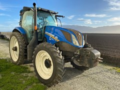 Tractor - Row Crop For Sale 2016 New Holland T6.180 , 180 HP