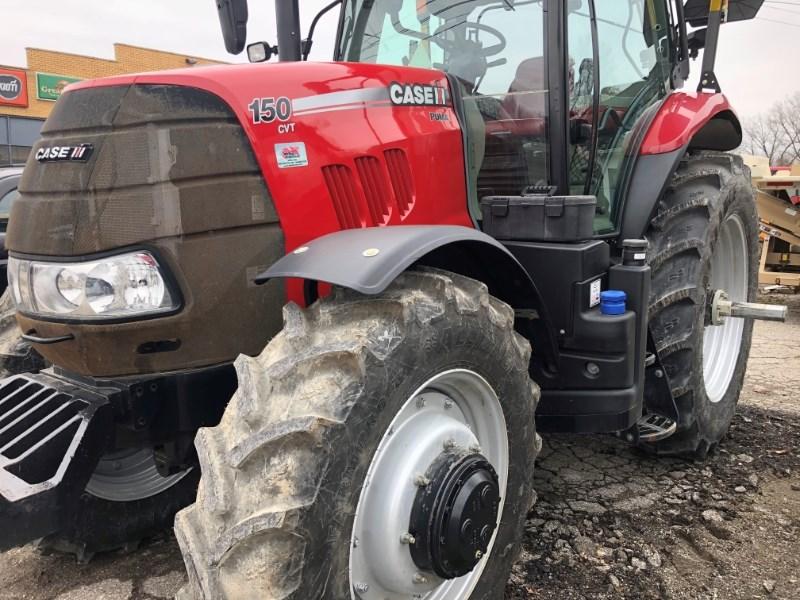2015 Case IH Puma 150 CVT Tractor For Sale