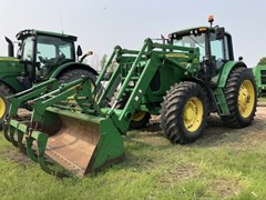 Tractor - Row Crop For Sale 2007 John Deere 7520 , 125 HP