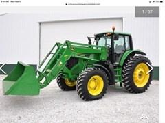 Tractor - Row Crop For Sale 2015 John Deere 6170M , 170 HP