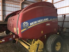 Baler-Round For Sale 2016 New Holland Rollbelt 560