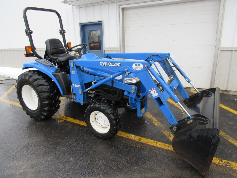 2003 New Holland TC33D Tractor For Sale