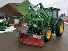 Tractor - Utility For Sale 2011 John Deere 6115D , 115 HP