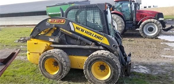 2016 New Holland L230 Skid Steer For Sale