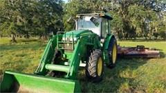 Tractor For Sale 2015 John Deere 6140D , 137.80000305176 HP
