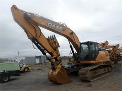 Excavator-Track For Sale 2012 Case CX300C , 207 HP