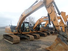 Excavator-Track For Sale 2014 Case CX210C , 120 HP
