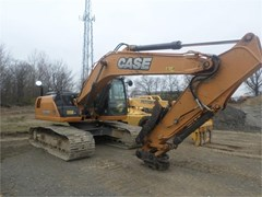 Excavator-Track For Sale 2015 Case CX210C , 174 HP