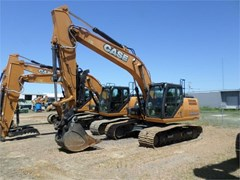 Excavator-Track For Sale 2016 Case CX210D , 174 HP