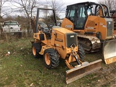 Trencher-Rubber Tires For Sale 2001 Case 460 , 40 HP