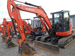 Excavator-Track For Sale 2013 Kubota KX057-4