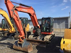 Excavator-Track For Sale 2014 Kubota KX080-4