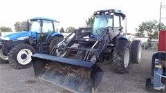 Tractor For Sale 2002 New Holland TV140 , 140 HP