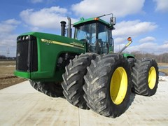 Tractor - 4WD For Sale 2004 John Deere 9520 , 450 HP
