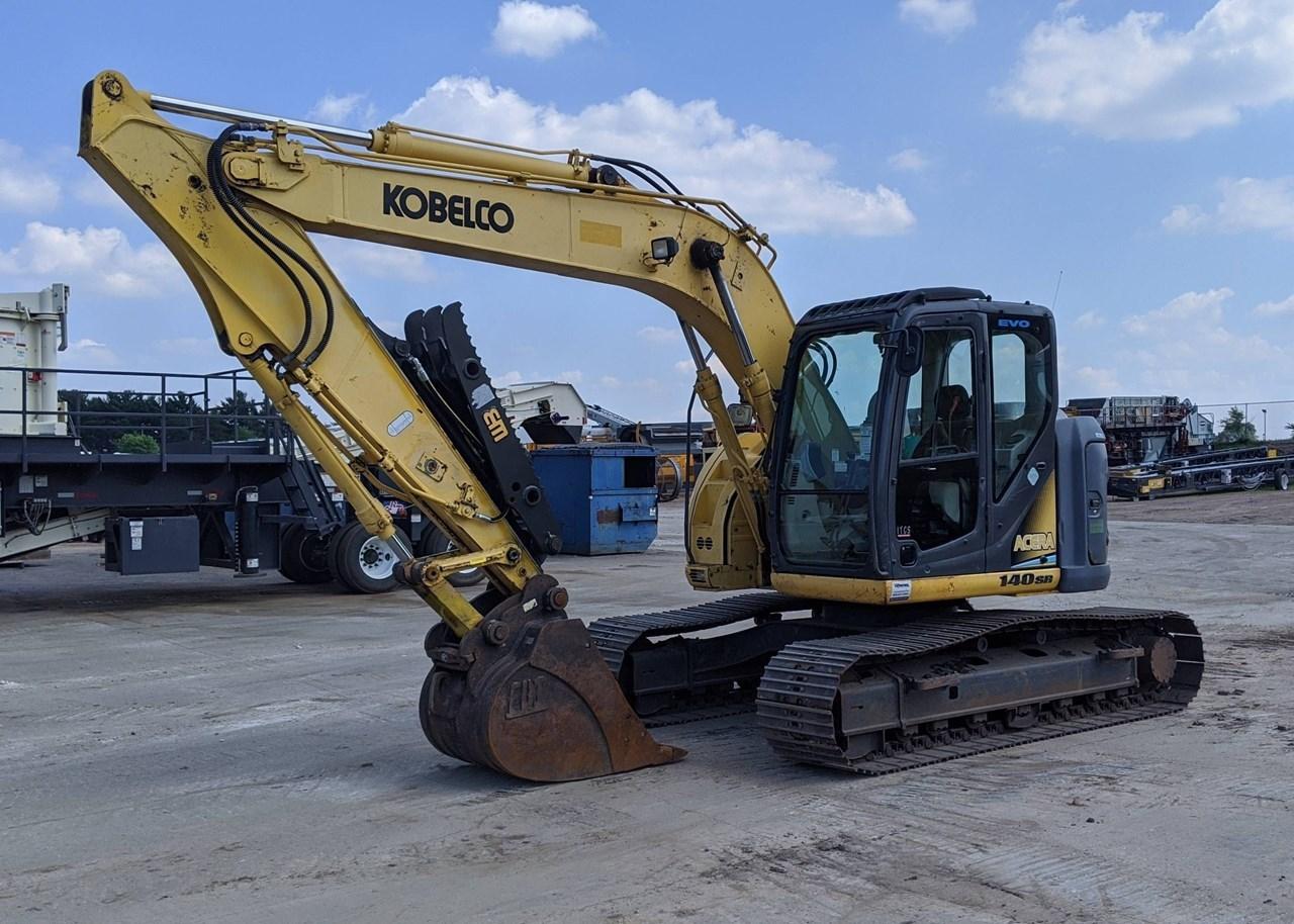 2012 Kobelco SK140SRLC Excavator For Sale