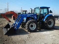 Tractor For Sale 2016 New Holland T4.110 , 105 HP