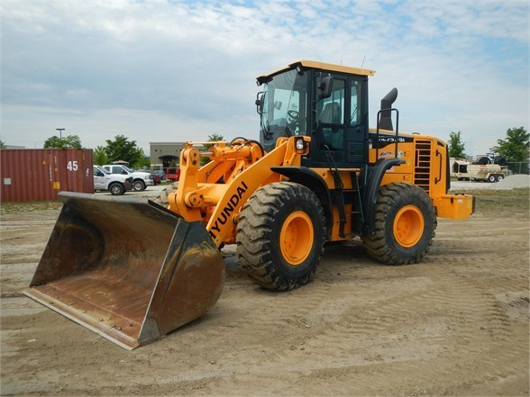 2014 Hyundai HL757-9A Wheel Loader For Sale