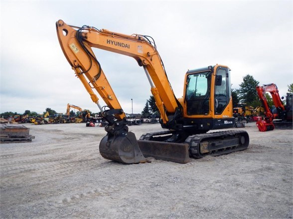 2016 Hyundai ROBEX 80CR-9A Excavator-Track For Sale