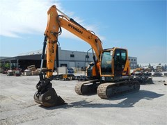 Excavator-Track For Sale 2016 Hyundai HX145 LCR