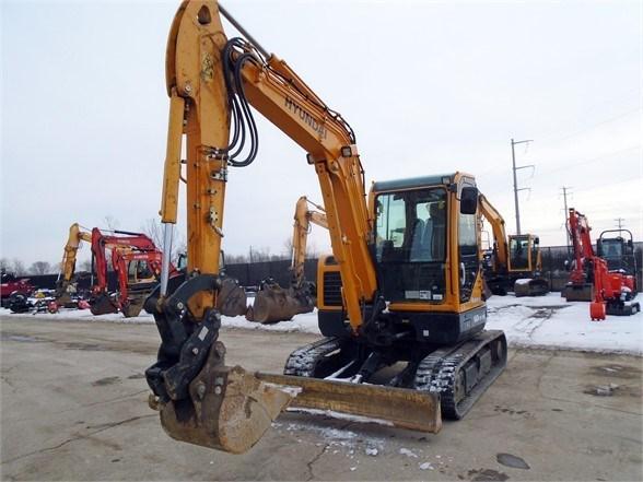 2018 Hyundai ROBEX 60CR-9A Excavator-Track For Sale