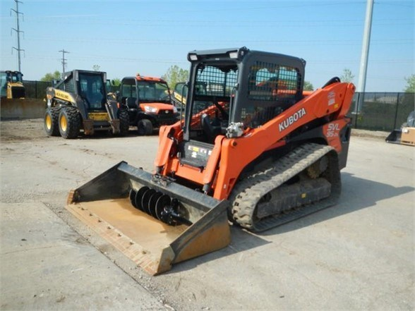 2016 Kubota SVL95-2S Skid Steer-Track For Sale