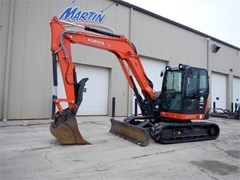 Excavator-Track For Sale 2018 Kubota KX080-4