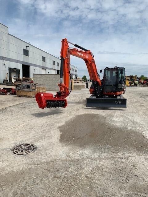 2019 Kubota KX080 Excavator-Track For Sale