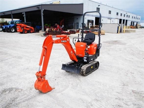 2018 Kubota K008 Excavator-Mini For Sale