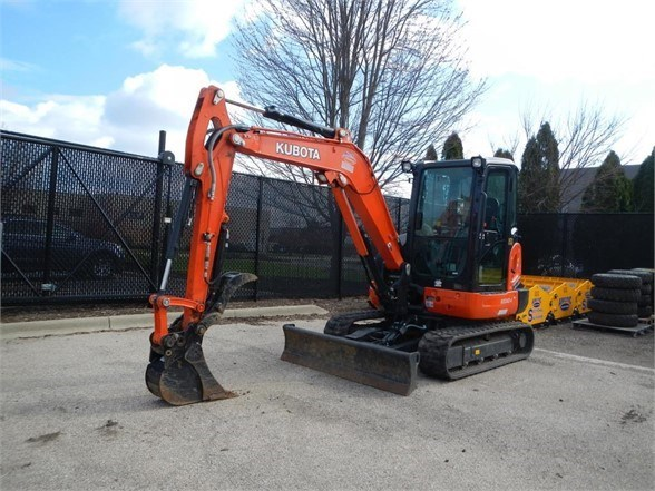 2019 Kubota KX040-4 Excavator-Mini For Sale