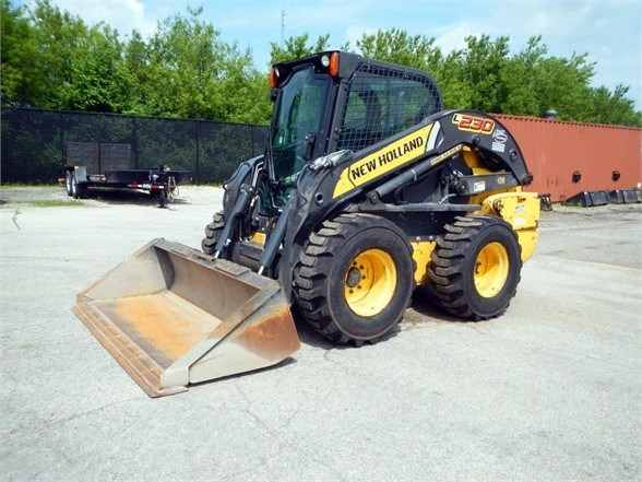 2015 New Holland L230 Skid Steer For Sale