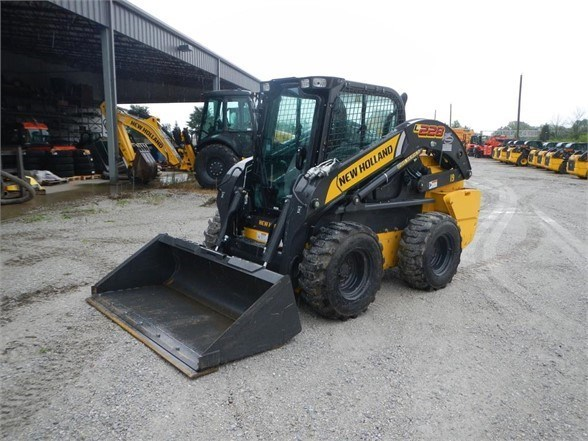 2017 New Holland L228 Skid Steer For Sale