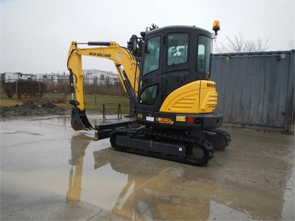 2018 New Holland E37C Excavator-Mini For Sale