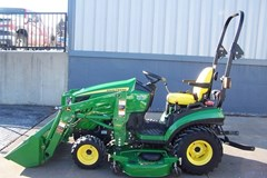 Tractor - Compact Utility For Sale 2012 John Deere 1026R , 25 HP